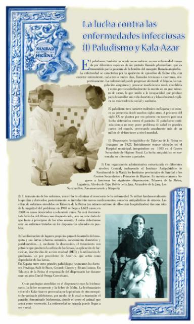Exposición conmemorativa del 75 aniversario del Centro Secundario de Higiene Rural de Talavera de la Reina (1933-2008). Panel informativo 04.