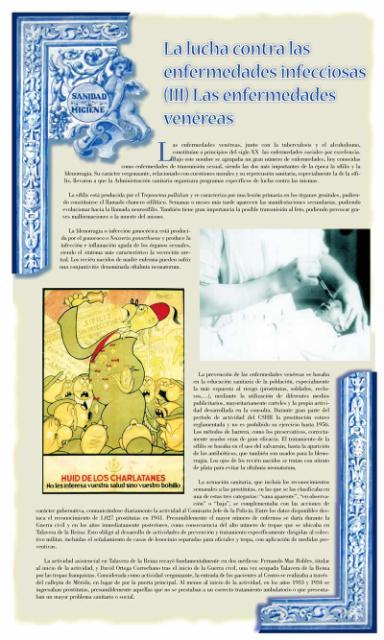 Exposición conmemorativa del 75 aniversario del Centro Secundario de Higiene Rural de Talavera de la Reina (1933-2008). Panel informativo 06.
