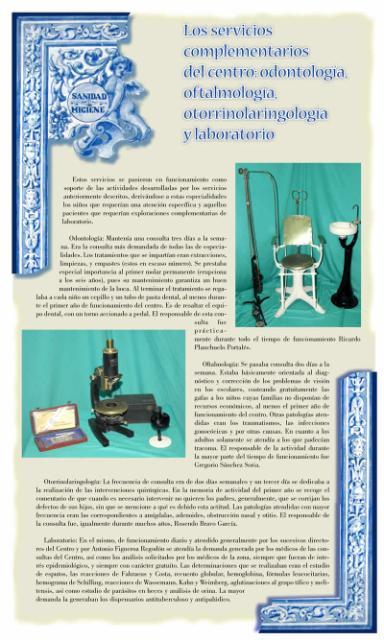 Exposición conmemorativa del 75 aniversario del Centro Secundario de Higiene Rural de Talavera de la Reina (1933-2008). Panel informativo 09.